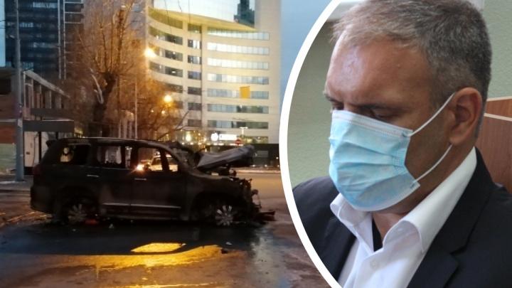 Перед ДТП выгнал из машины трезвого водителя: подробности мягкого приговора бизнесмену на «блатном» Lexus