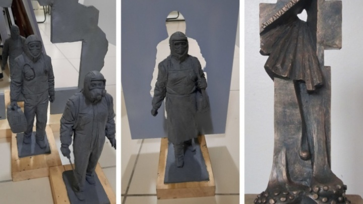 В Кемерово и Новокузнецке установят памятники медикам, которые боролись с COVID-19
