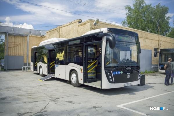 В новых автобусах будут обогреватели и кондиционеры