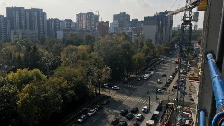 Новый ЖК в центре Нижнего Новгорода построили уже на 35%