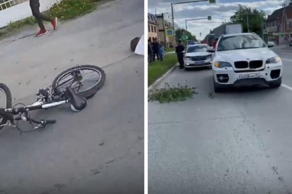 Предварительно установлено, что водитель BMW поехал на красный сигнал светофора