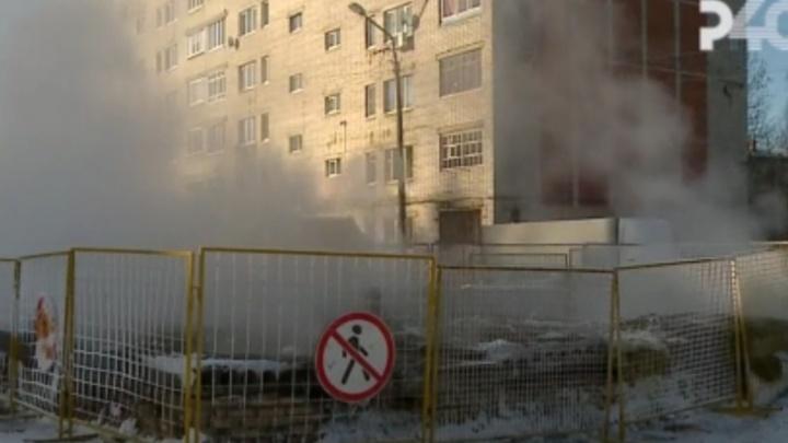 Следователи выяснят, как в Ярославской области коммунальщик упал в яму с кипятком на теплотрассе