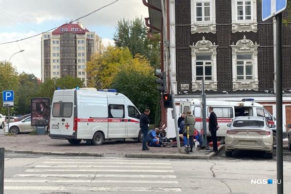 Инцидент произошел на улице Ленина, 11