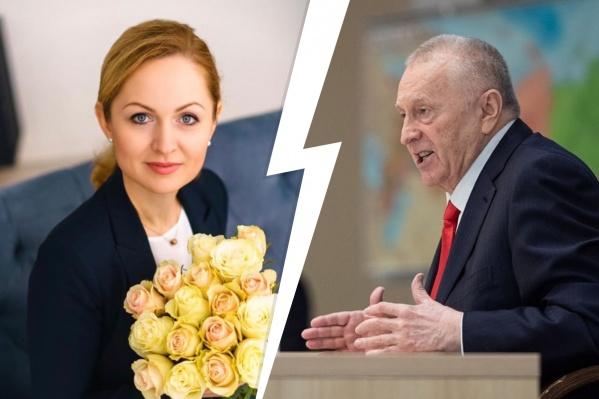 Ирина Чиркова в прошлом сама была членом партии ЛДПР, но в 2016 году покинула ее