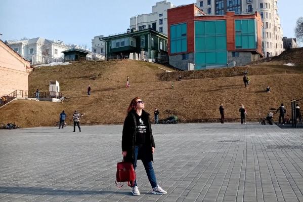 Алёна приехала в Тюмень почти на месяц: вела себя не как туристка, а как обычный городской житель