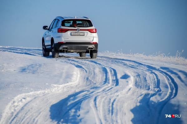 Зимние шины нужно ставить еще до того, как дороги будут выглядеть вот так