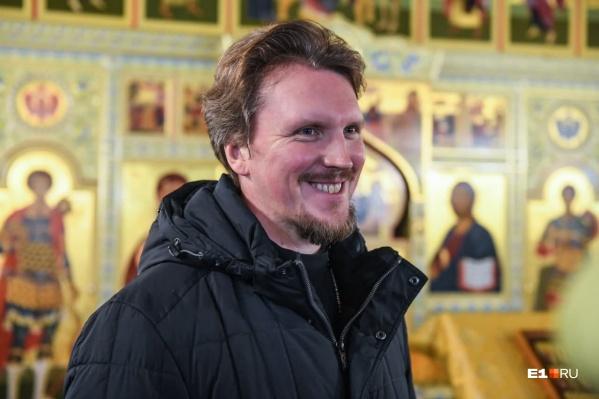 """Андрей Канев стал священником в <nobr class=""""_"""">22 года</nobr> и почти сразу же стал руководить приходом"""
