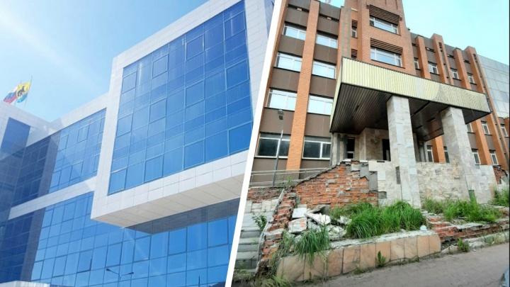 Из нового здания в аварийное: мэрия Сургута готовится к переезду