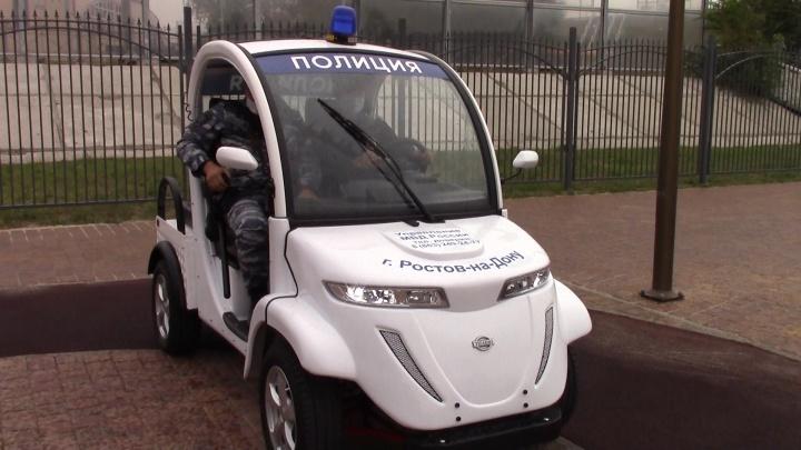 Полицейские станут патрулировать Ростов на электромобилях