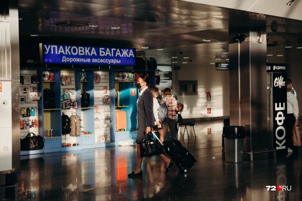 Регулярные рейсы из Тюмениавиакомпания не выполняет уже больше месяца