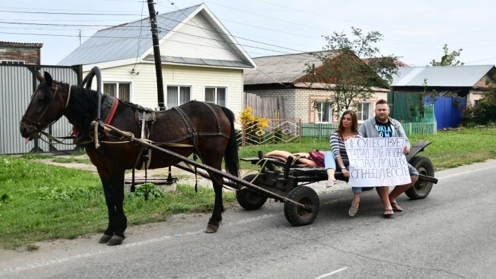 Поехали к Путину. Владельцы базы отдыха из Екатеринбурга отправились в автопробег, чтобы спасти ее