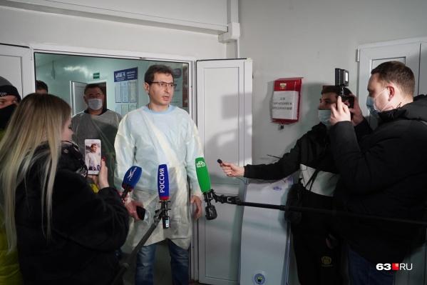 Армен Бенян рассказал СМИ о состоянии здоровья пострадавших в ДТП