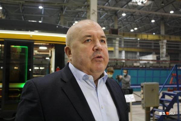 Гендиректор завода«Уралтрансмаш» Дмитрий Семизоров