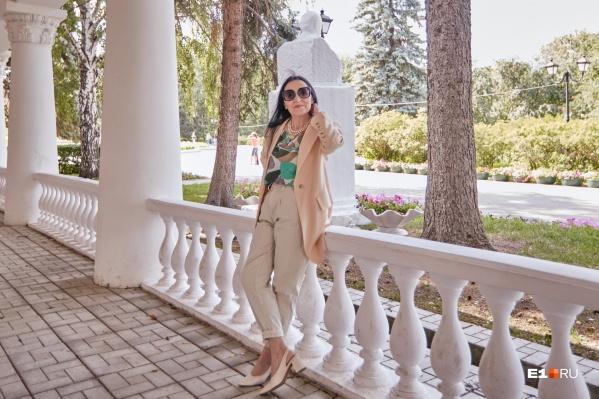Любовь Величко обожает шопинг в магазинах тканей