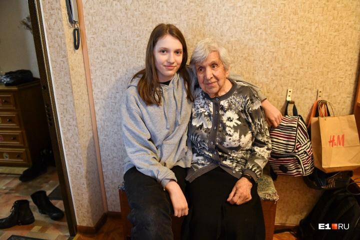 Сейчас столетняя екатеринбурженка живет в большой квартире со своей семьей