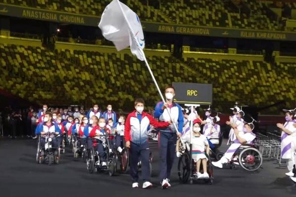 Торжественное открытие Паралимпиады состоялось 24 августа