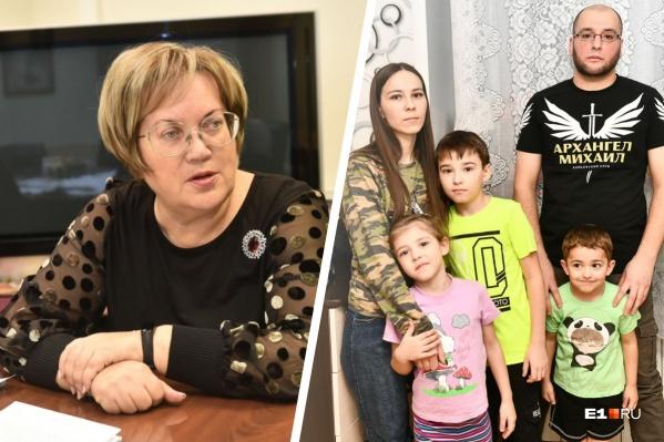 Татьяна Мерзлякова обещала оказать семье Доргоевых юридическую помощь