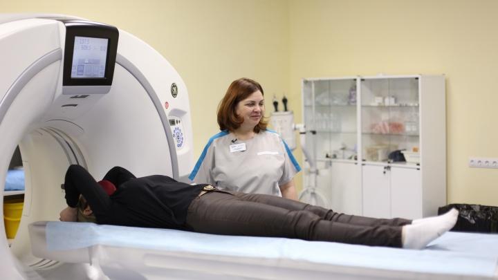 Может принимать пациентов весом до220кг: вновосибирском онкодиспансере появился новый быстрый томограф