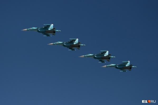 В ЦВО подтвердили, что истребители совершали тренировочный полет