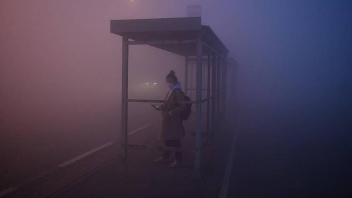 «Выходишь на улицу — и страшно сделать вдох». Репортаж из задыхающегося от дыма Солнечного