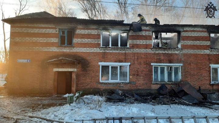 Пожар в Лыскове с двумя погибшими начался из-за поджога