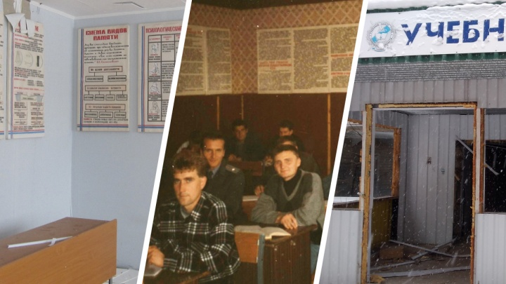 Силовики в кожанках и обучение стрельбе — архив из школы милиции в Тобольске, которую забросили и забыли