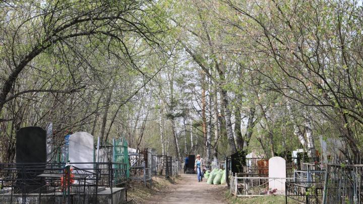 В Красноярске объявлены льготные автобусы для проезда на кладбище в Родительский день