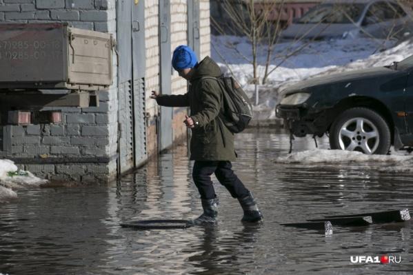 Если завтра плюсовая температура ожидается только в горных районах, то послезавтра — по всей Башкирии