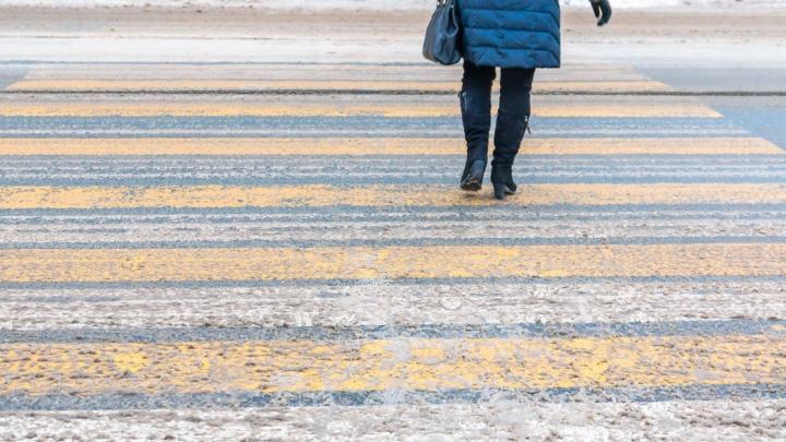 На дорогах Самары установят «зебры»-проекции