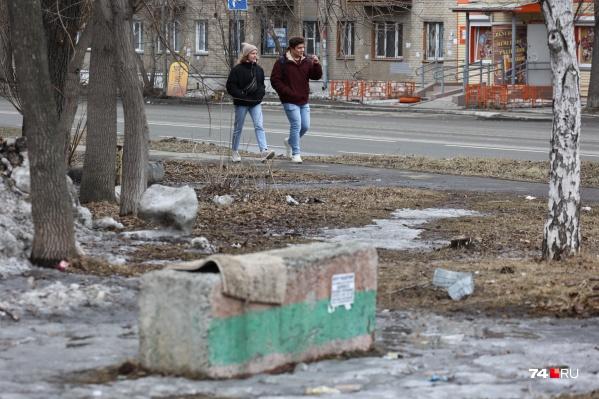При виде специальных наклеек челябинцы, по мнению Натальи Котовой, перестанут мусорить на улицах