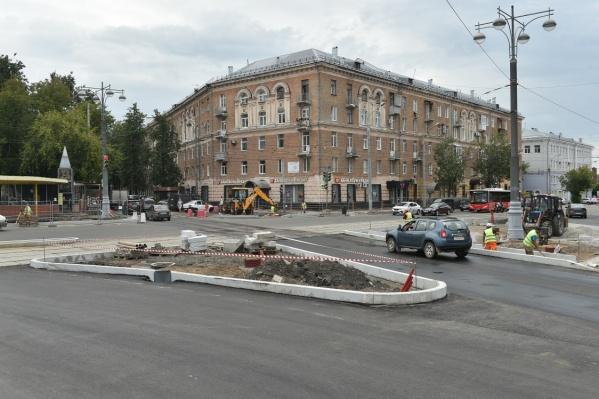 Следующий этап реконструкции — от Белинского до Чкалова