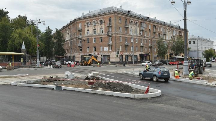 В Перми началась подготовка к реконструкции последнего участка Комсомольского проспекта