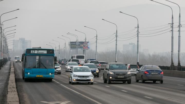 В Красноярске разрешили ездить по выделенкам с 30 октября по 7 ноября