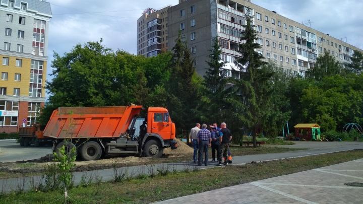 Мэрия объявила торги на строительство новой дороги в центре Омска
