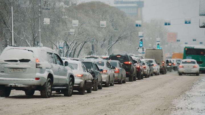 Метель и снег накроют федеральные трассы в Тюменской области (в апреле!)
