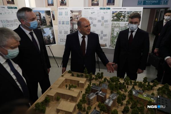 Планируется также построить новый корпус для СУНЦ НГУ