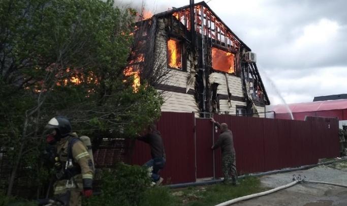 Поджога точно не было: в Волгограде назвали причину крупного пожара в дачном обществе