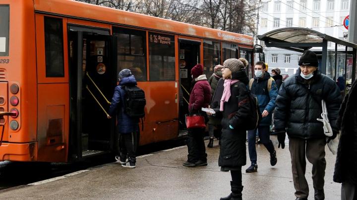 Общественный транспорт не будет останавливаться на двух площадях Нижнего Новгорода 31 января