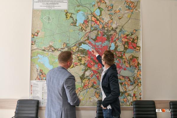 К концу этого года Екатеринбург обзаведется новым генеральным планом, с которым станет понятно, где начнут застраивать город