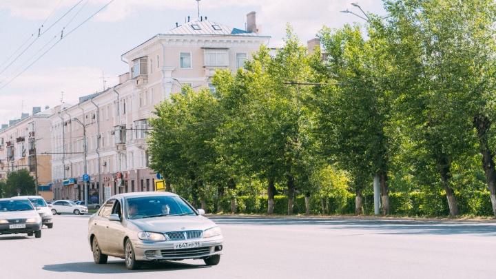В Омске снесут 16 тополей вдоль проспекта Карла Маркса для новой остановки