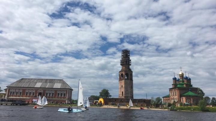 В Усолье пройдут гонки на яхтах «Строгановская регата»