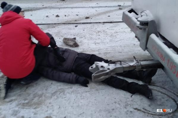 Дмитрия сбила машина