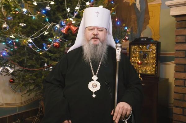 Митрополит Архангельский и Холмогорский Корнилий поздравил всех с Рождеством