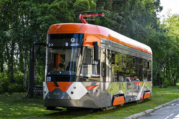 Такие вагоны скоро можно будет увидеть на улицах Верхней Пышмы и Екатеринбурга