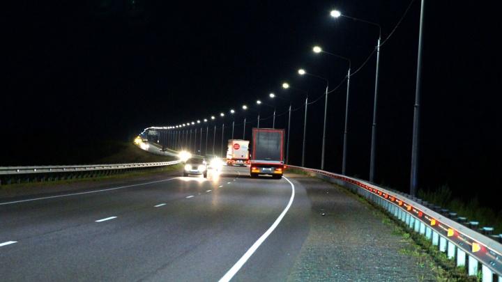 На трассе «Сибирь» в Красноярском крае установят освещение пяти населенных пунктов