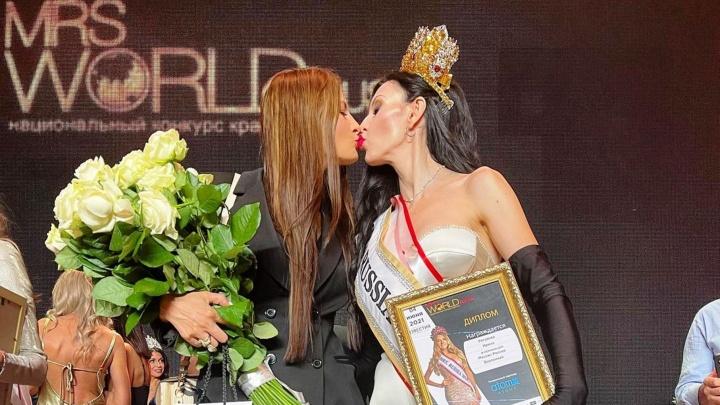 37-летняя омичка выиграла корону «Миссис Россия Вселенная»