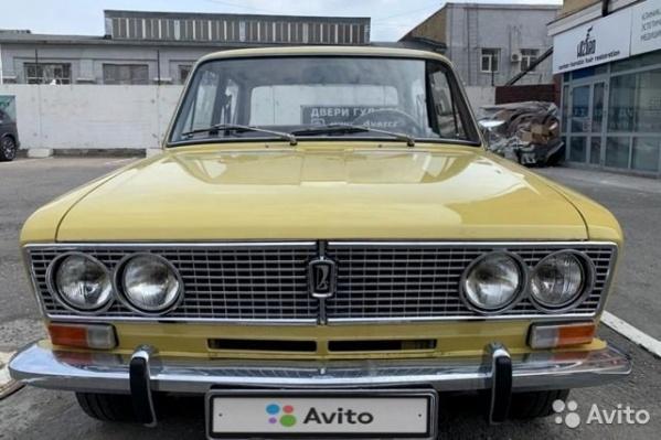 По словам продавца, машина полностью собрана из деталей советского производства