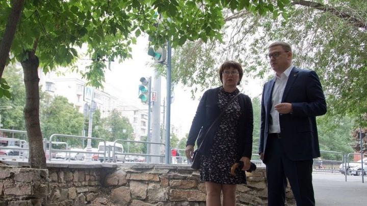 Текслер прояснил судьбу оставшихся вековых даурских лиственниц в центре Челябинска