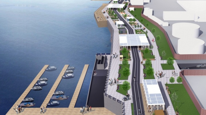 В мэрии озвучили перспективы строительства новой набережной в Самаре