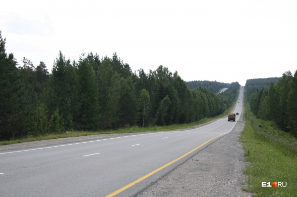 На Серовском тракте обустроят 70 километров шумовых полос